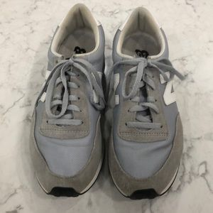 Grey and white NB shoes size 9